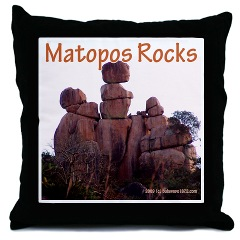 Matopos Rocks - Pillow
